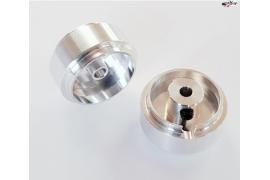 Aluminium rim 16x8.3 mm