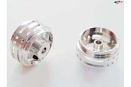 Llantas aligeradas 16x8.3 mm Aluminio