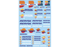 Repsol decals