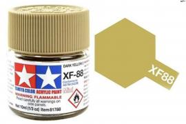 Pintura Amarillo Oscuro 10ml  XF-88