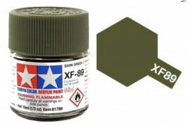 Pintura  Verde Oscuro 10ml  XF-89