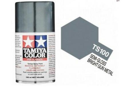 Semi-Gloss Bring Gun Metal  Paint Spray TSC-100