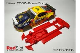 Chasis 3DP en línea Nissan Z350 Power Slot
