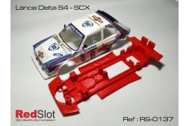 Chasis 3DP en línea Lancia Delta S4 SCX