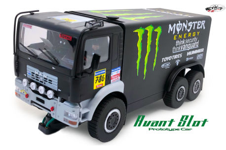 Camión Man Dakar Monster
