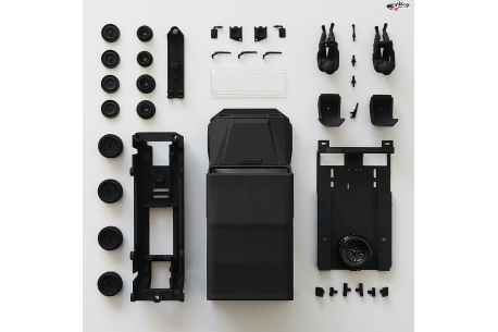 UMM Alter Soft Top body and chassis kit