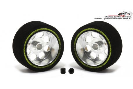 Foam Tire 23x11 mm
