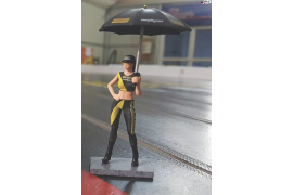 Figure Pit Baby + umbrella Pirelli