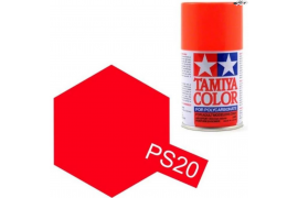 Fluorescent Red Polycarbonate Spray PS-20