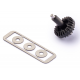 Conical Crown 25/16 Plastic Teeth with Spacers
