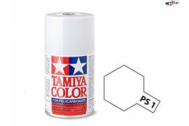 Fluorescent White Polycarbonate Spray PS-1