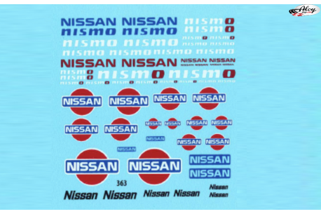 Decals Nissan Nismo 1/24 1/18