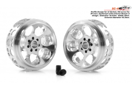 Llanta aluminio 16.5x8.5mm. Monza-2