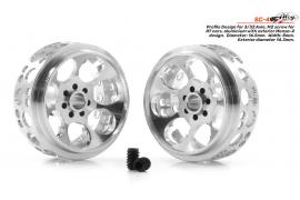 Rim aluminum 16.5x8. 5 mm.  Monza-2