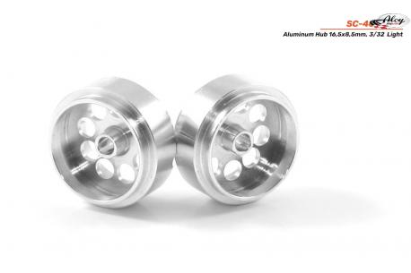 Rim aluminum 16.5x8. 5 mm.  Lightweight