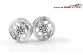 Rim aluminum 15.5x8. 5 mm.  Monza-2
