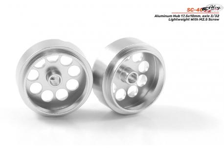 Rim aluminum 17.5x10 mm.  Lightweight