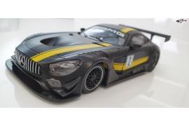 Mercedes AMG Test Car Black  AW