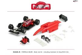 Formula 1 86/89 Kit Red IL