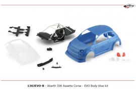 Carrocería Abarth 500 kit Azul