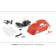 Bodywork Abarth 500 kit Red