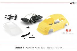 Bodywork Abarth 500 kit Yellow