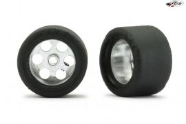 Set ruedas traseras 20x12,5 mm Supergrip