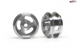 Aluminium Wheels 15.8x8.2 mm