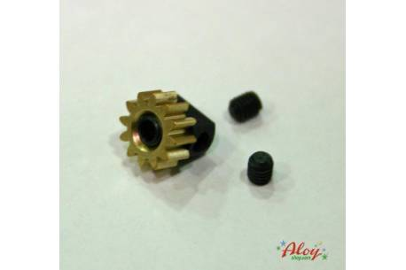 Pinion pull-out brass Z12 x 7,5mm