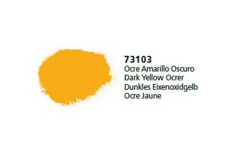 Ocre Amarillo Oscuro 'Vallejo Pigments'