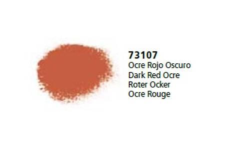 Ocre Rojo Oscuro 'Vallejo Pigments'