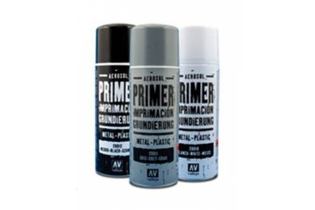 Spray primer metal-plastico White 400ml