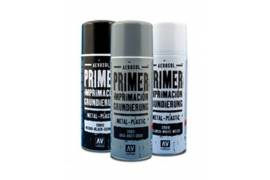 Spray primer metal-plastico grey 400ml
