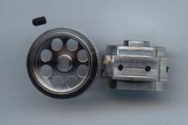 Aluminum wheel AS 15, 8X10mm 3/32 (2ut.)