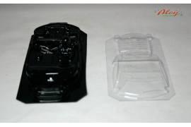 Interior + Crystal lexan FORD MUSTANG (NINCO 1)