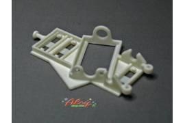 Soft angular motor support