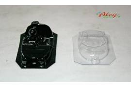 Interiores + Cristal lexan AUDI R18 LM (NSR)