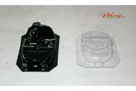 Interiors + Crystal lexan AUDI R18 LM (NSR)