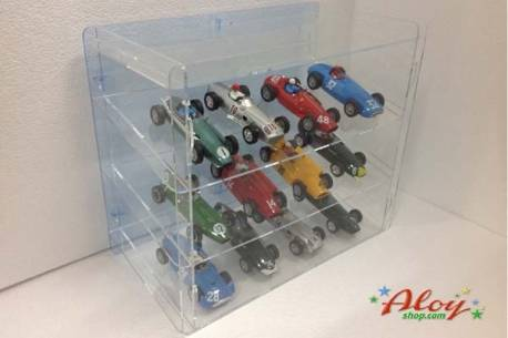 Showcase of methacrylate 1/32 to 12 cars / background mirror