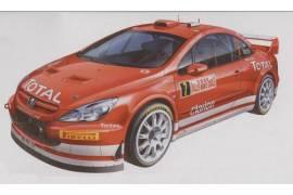 Peugeot 307 WRC ' 05 Esc MC 1:24