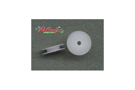Nylon simple delrin pulleys 8mm 1: 24 (2udes)