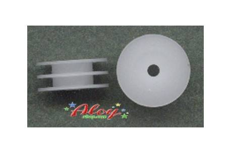 Double pulley nylon delrin 8mm 1:32(2_udes)