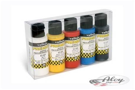 Case of 5 Premium colors